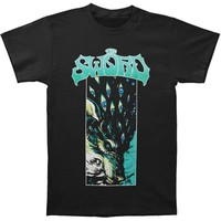 Sword Men's  Wolf T-shirt Black