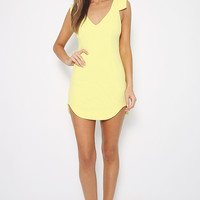 End Of Time Dress - Yellow