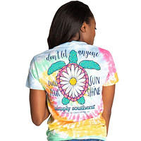 Simply Southern Preppy Sunshine Turtle T-Shirt