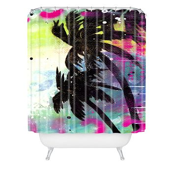 Sophia Buddenhagen Oasis Shower Curtain
