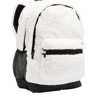 Sherpa Campus Backpack - PINK - Victoria's Secret