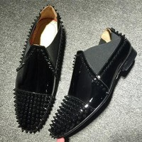 Cl Christian Louboutin Loafer Style #2396 Sneakers Fashion Shoes - Best Online Sale