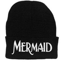 Lengendy Mermaid Beanie (White Letters)