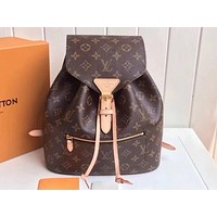 Louis Vuitton LV Hot Selling Fashion Coloured Lady's Backpack