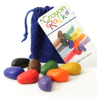 Crayon Rocks: Soy Wax Crayons, 8 Primary Colors