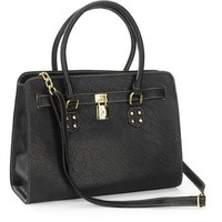 George Women's Knightly Belted Tote with Strap - Walmart.com