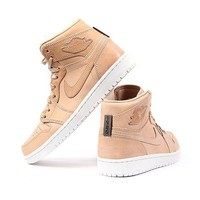 Vachetta Tan Leather Air Jordan 1 Pinnacle