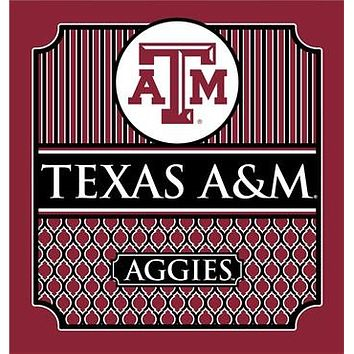 Southern Couture University of Texas A&M Aggies Classic Preppy Girlie Bright T Shirt