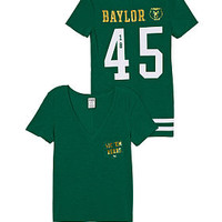 Baylor University V-Neck Pocket Tee - PINK - Victoria's Secret