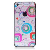 Transparent Circles Back Cover For iPhone 5 & 5S