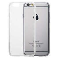 "iPhone 6S Case, Totallee [The Spy] Flexible Slim Shock Absorbing Crystal Clear Soft Cover for Apple iPhone 6 (4.7"" Version) - Fully Transparent"