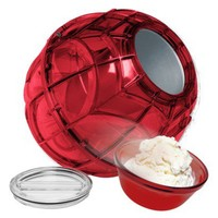 The Ice Cream Ball Mega Size Play and Freeze Ice Cream Maker - Red
