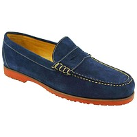 Pierson Loafer in Navy by Martin Dingman
