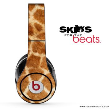 Real Giraffe Skin for the Beats by Dre