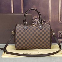LV Louis Vuitton Monogram Canvas Women's Handbag Shoulder Bag