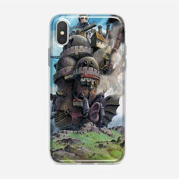 Howl Moving Castle Poster iPhone XS Max Case