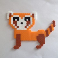Pabu Perler - Legend of Korra from Little House of Crafting