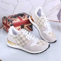 LV Louis Vuitton Casual Fashion Women Sneakers Sports Shoes