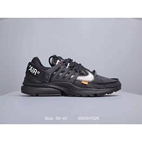 Nike Air Presto 2.0 x OFF-WHITE Joint Sneakers Black
