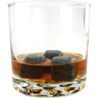 Lily's Home® Sipping Stones, Set of 9 Whisky Chilling Rocks with Carrying Pouch - Made of Pure Soapstone