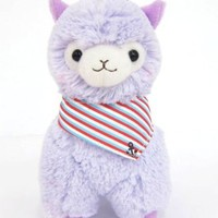 "Llama Sailor Alpaca 7"" Prime Plush (Purple)"