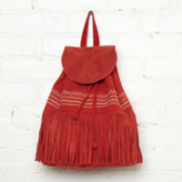 Free People Oakland Fringe Backpack at Free People Clothing Boutique