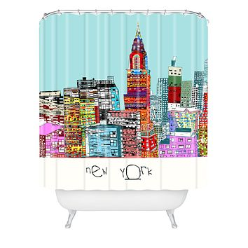 Brian Buckley New York Living Shower Curtain