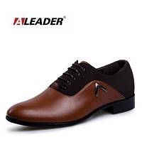 Business Mens Dress Shoes Casual Leather Oxford Flats For Men Fashion Luxury Wedding Formal Shoes Male