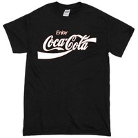 Coca Cola Custom Men's Gildan Adult T-Shirt