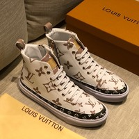LV Louis Vuitton Women Men 2020 New popular Casual Shoes Sneaker Sport Running Shoes