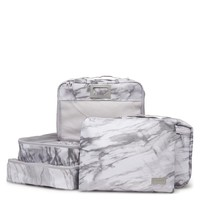 Packing Cubes - Milk Marble - 5-Piece Set