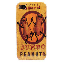 Peanut People Hard Case for iPhone 4 4S