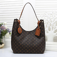 LV Louis Vuitton Women Fashion Leather Handbag Shoulder Bag Satchel