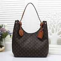 LV Louis Vuitton Women Fashion Leather Handbag Shoulder Bag Satchel Messenger bag