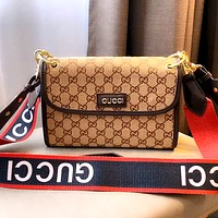 GUCCI New Women's Vintage Presbyopia Shoulder Crossbody Bag
