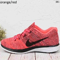 NIKE AIR ZOOM Moon fly line 3 generation weaving fashion sports shoes F-MLDWX Orange/red