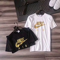 NIKE 2018 counter classic men and women casual slim round neck short-sleeved T-shirt F-ZDL-STPFYF