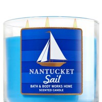 3-Wick Candle Nantucket Sail