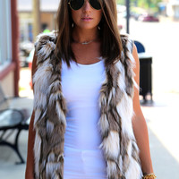 Two Way Street {Fur Jacket/Vest}