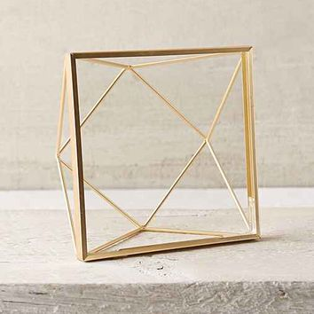 Geo Wire Picture Frame- Bronze One