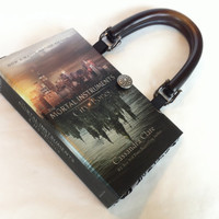 City of Bones Mortal Instruments Series Book Purse - Custom Book Purse