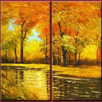 Autumnal Shades Canvas Wall Art