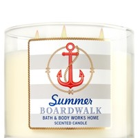 3-Wick Candle Summer Boardwalk