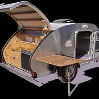 Teardrop Tear Drop Camper Trailer RV Pop-Up Plans How to Build Build Your Own on eBay!