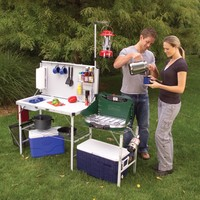 Coleman - Coleman - camp kitchen - camping cooking gear - Pack-Away™ Camp Kitchen