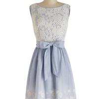 ModCloth Mid-length Sleeveless A-line Couldn't Be Happier Dress