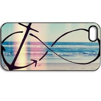 Angel Wings fashion Sailor Anchor vintage Hard back case cover For Apple iphone 4G 4S 4 (G)