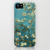 Van Gogh - Blossoming Almond Tree Galaxy S5 Case by TilenHrovatic