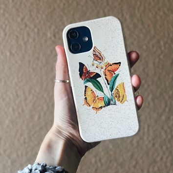 Cute Botany Biodegradable Phone Case
