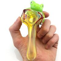 Color Changing Frog Pipe